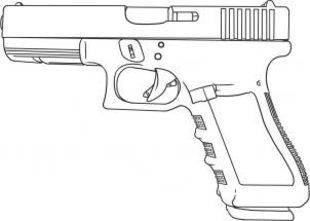 Pistole zeichnen lernen schritt für schritt tutorial