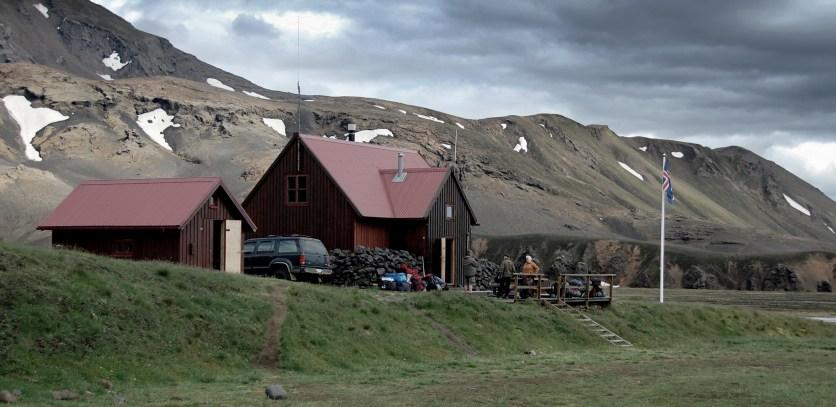 Hütte Island Hochland