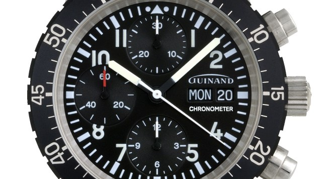 Guinand Chronograph & Chronometer 40.50-04C
