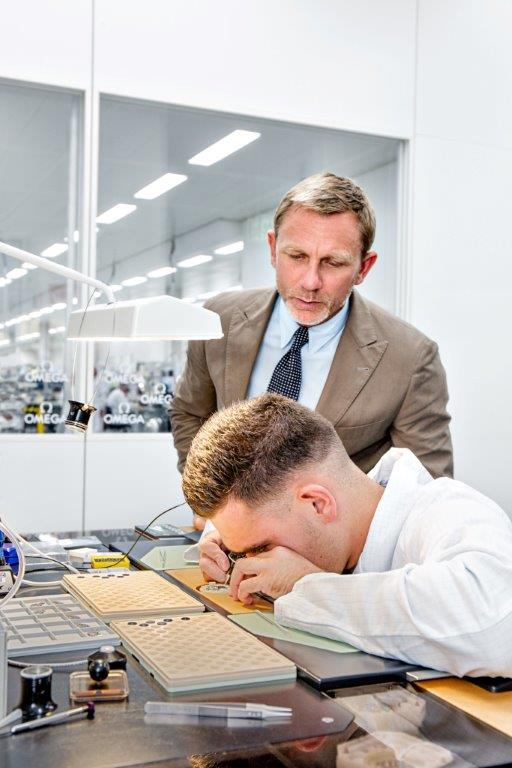 Daniel Craig is seen at the OMEGA Factory Visit in Switzerland_22