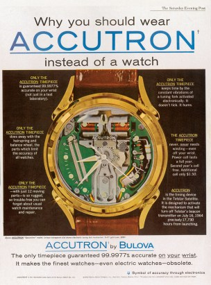 Anzeige Bulova Accutron Spaceview