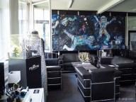 Weltraum - das bestimmende Thema bei Fortis und im Ausstellungsraum