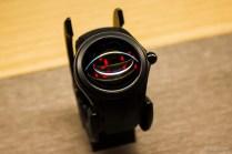 Corum Bubble Disconnected, 47 mm, Digital, schwarzes PVD-Gehäuse (Preis: 1.500,- Euro)