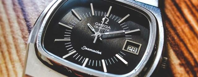 Omega Seamaster Quartz TV Dial