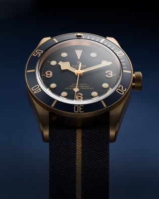 Tudor Black Bay Bronze Blue in Kooperation mit Bucherer