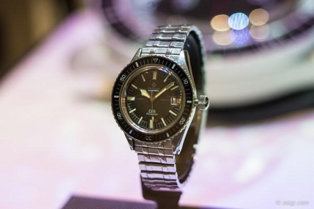 Baselworld 2018 - Certina Vintage Diver