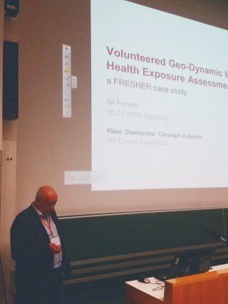 Volunteered Geo-Dynamic Information for Health Exposure Assessment, Klaus Steinnocher