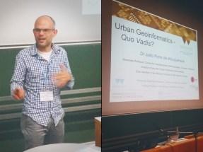 João Albuquerque about 'urban geoinformatics' - quo vadis?
