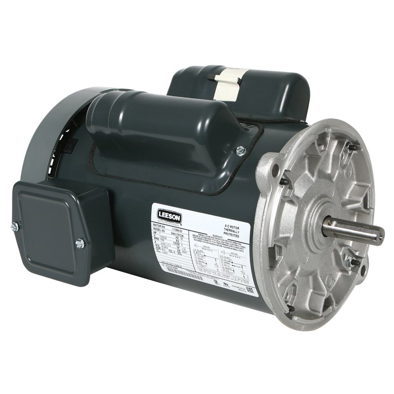 1 HP Leeson Auger Motor