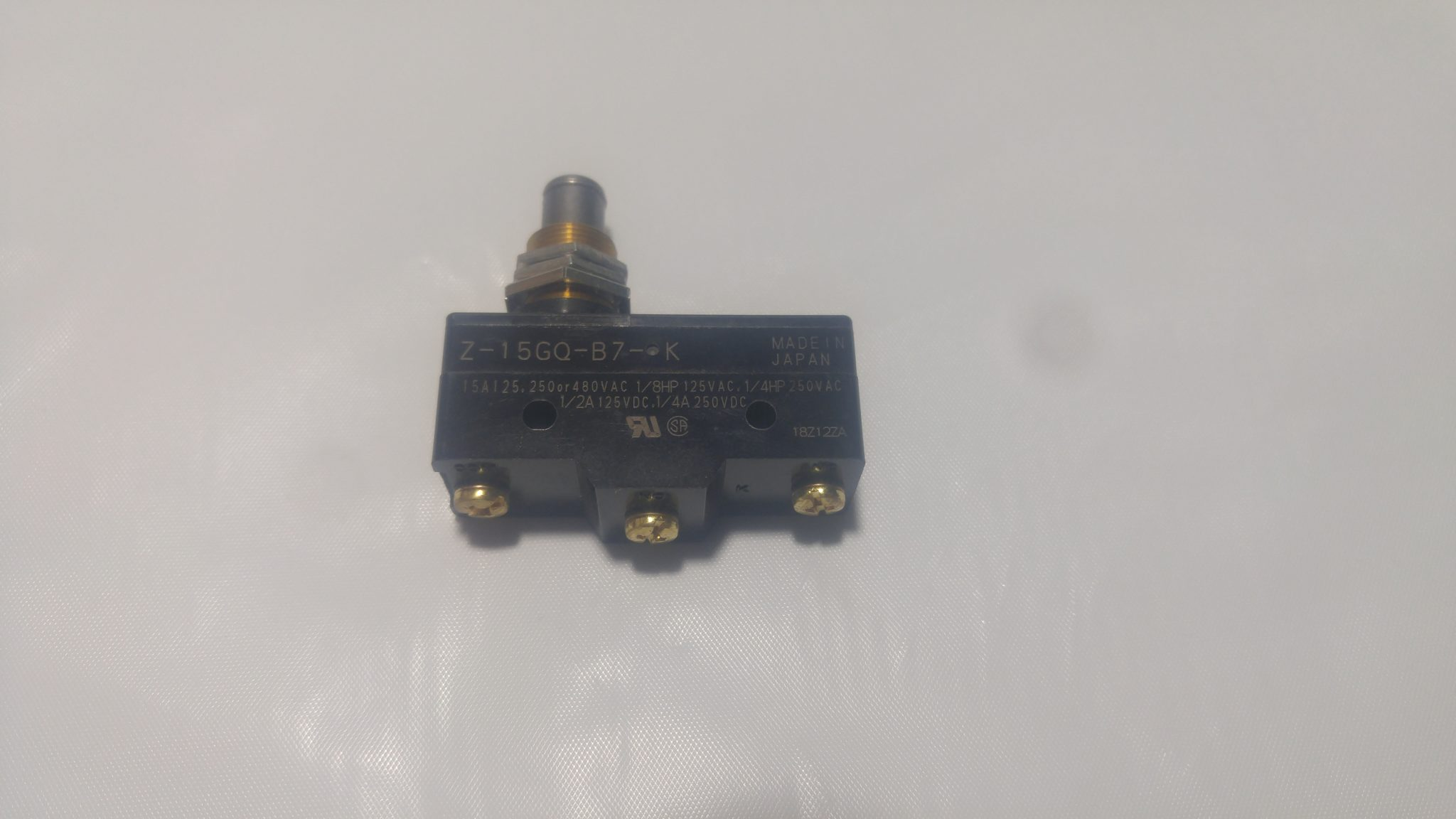Micro Switch Large Button Zeiset Equipment Microswitch