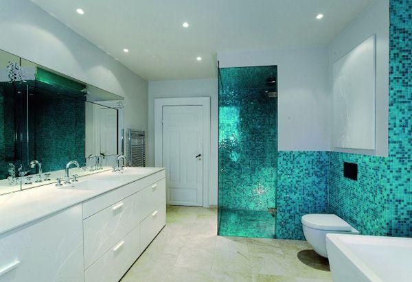 Bagno Moderno Mosaico Beige