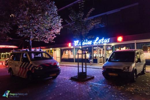 Overval op Restaurant de Blauwe Lotus in Zeist