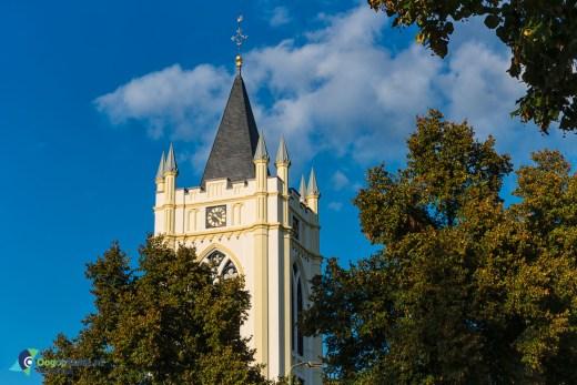 Kerktoren van de oude kerk van Zeist