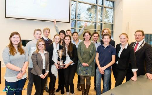 CLZ wint jongerdebat in raadzaal van Zeist