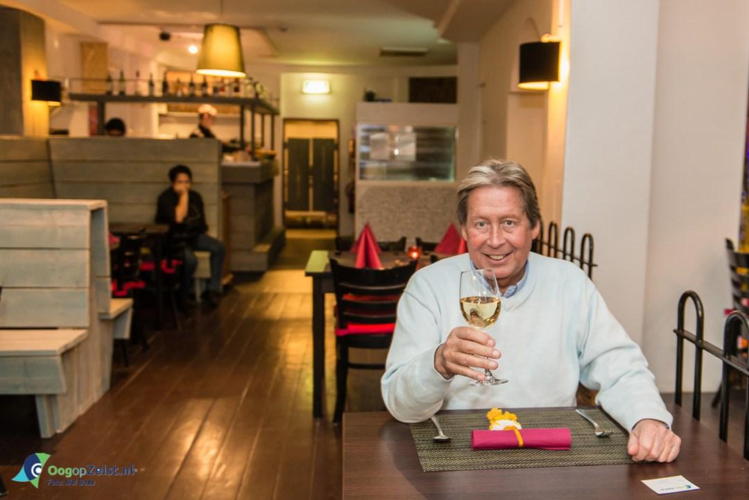 Hans Kazan laat zich als een van de eerste betoveren door Bangkok Cuisine, thais Restaurant aan de Dorpstraat in Zeist