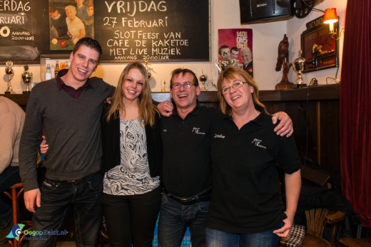 Cafe de Kaketoe op na een daverend Slotfeest
