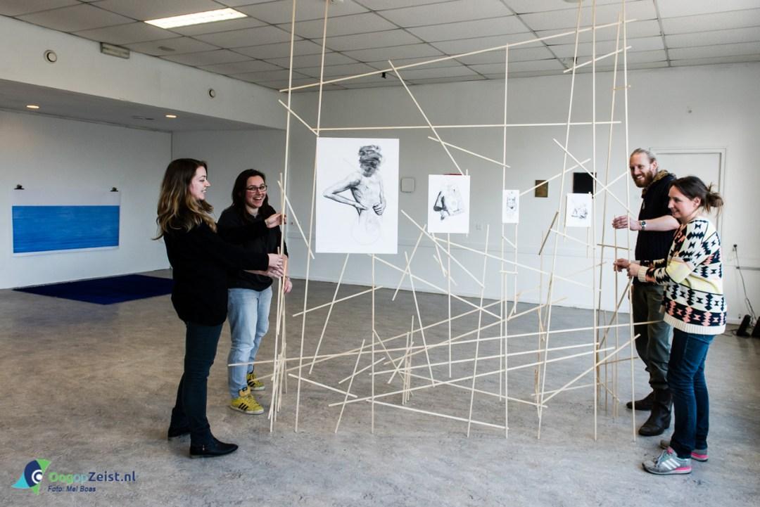 7 Kunstenaars uit Zeist Exposeren onder de naam Territorium in de oude brandweerkazerne