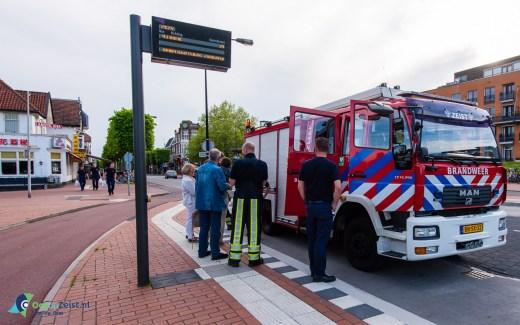 De brandweer Zeist vergistte in de openingstijden van de supermarkten op Hemelvaartsdag. Dat werd schinees halen