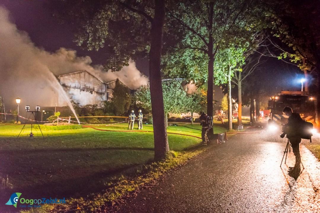 Er waren meerdere fotografen op de brand afgekomen