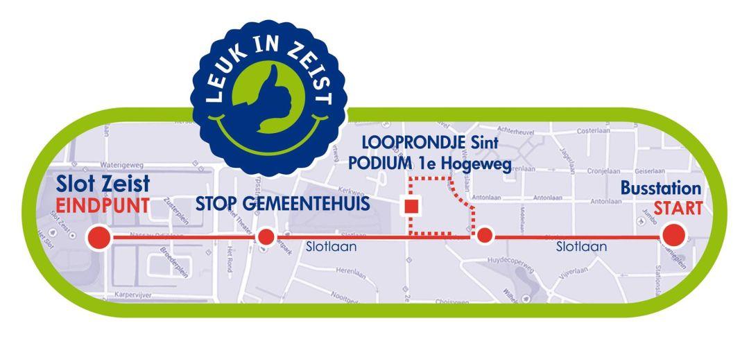 Route van Sinterklaas