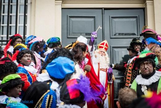 Sinterklaas neemt zijn intrek in Slot Zeist
