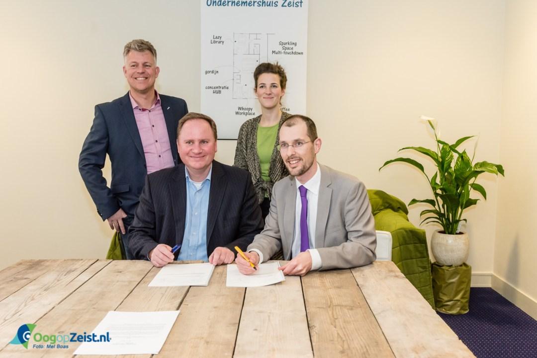 Ondertekening Huurcontract van Ondernemershuis in de Oude Apotheek