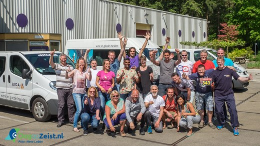 BIGA Groep RoPRun 2016 vertrek