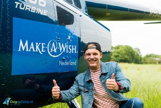Enzo Knol op pad voor Make a Wish
