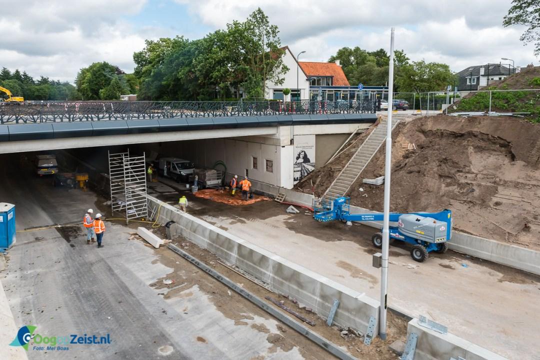 Laatste loodjes voor de tunnel van de N237 de Wegh der Wegen in Soeterberg