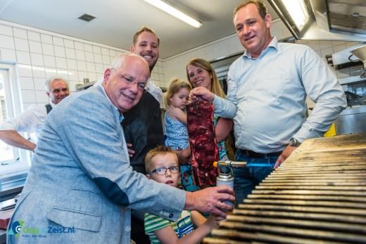 Café Brasero Steak & Grill geopend door Wethouder Marcel Fluitman