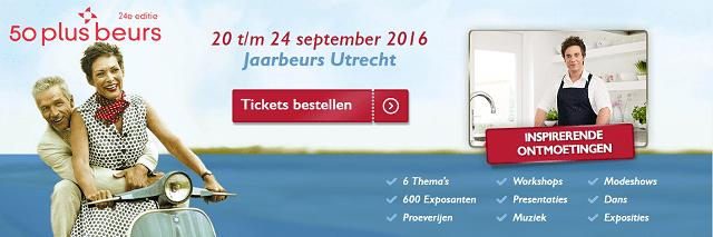 Speciale OogOpZeist.nl aanbieding voor de 50plus beurs