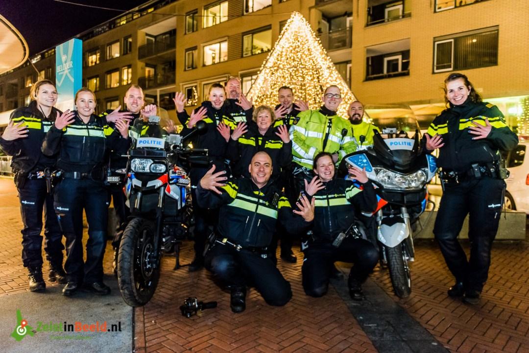 Politie Zeist allemaal gelakt voor Serious Request 2016 #SR16
