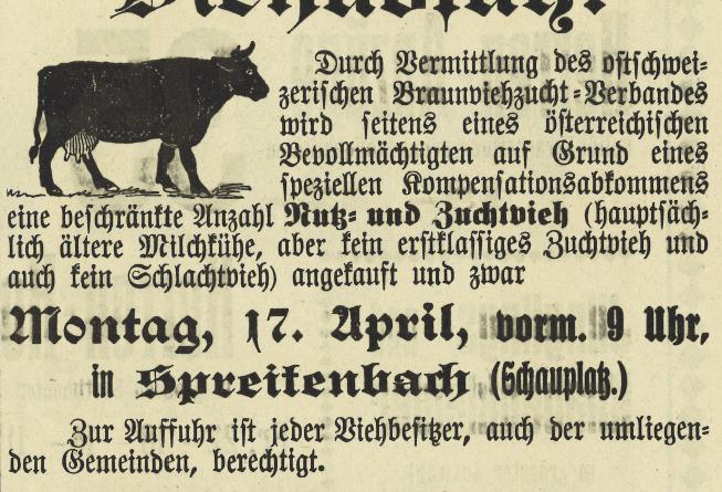Kühe für Ungarn, Teil 1