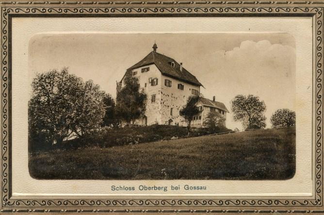 Schloss Oberberg bei Gossau, 1911