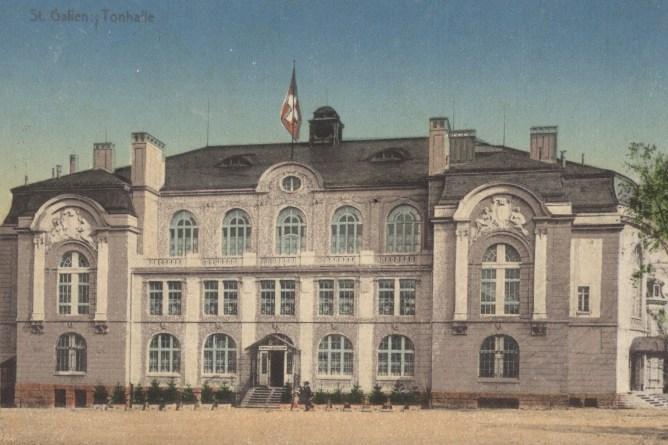 Tonhalle St.Gallen um 1914
