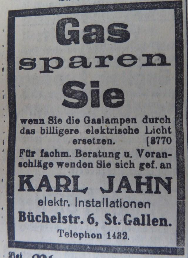 Gas sparen Jahn