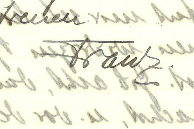 Unterschrift Riklin
