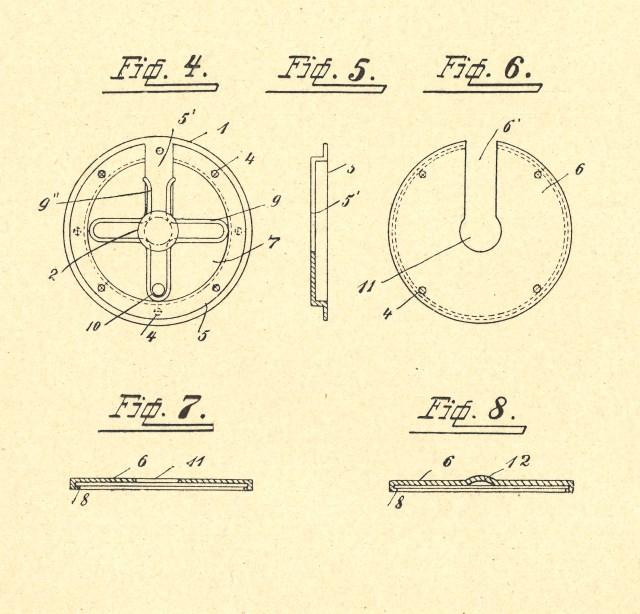 Druckknopf, Patent, Fortsetzung