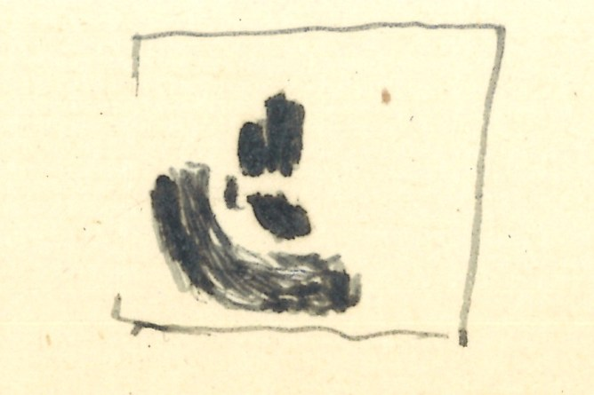 Riklin-Bild, Skizze