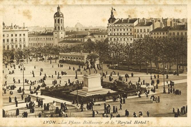 Lyon um 1918