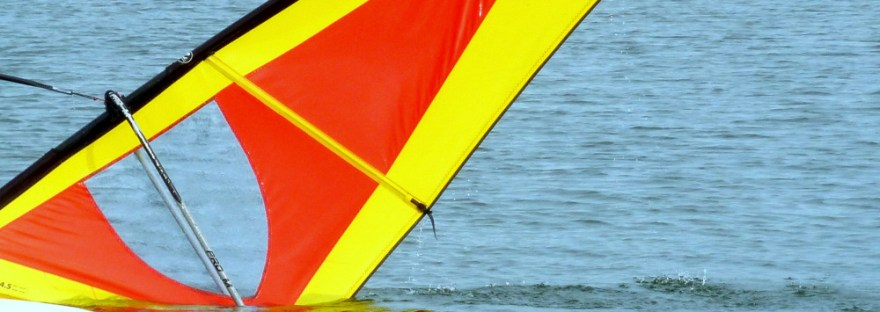 Windsurfen ist gar nicht so einfach