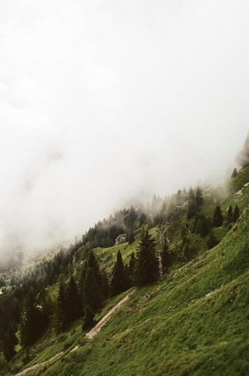 Malerische Nebelschwaden