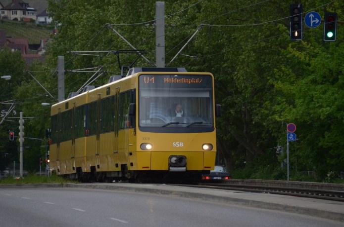 Warnstreik im öffentlichen Personennahverkehr derBRD