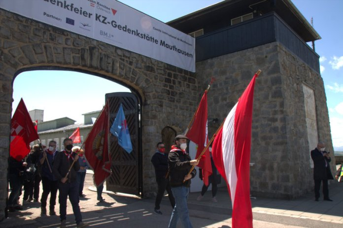 Befreiungsfeiern in Mauthausen