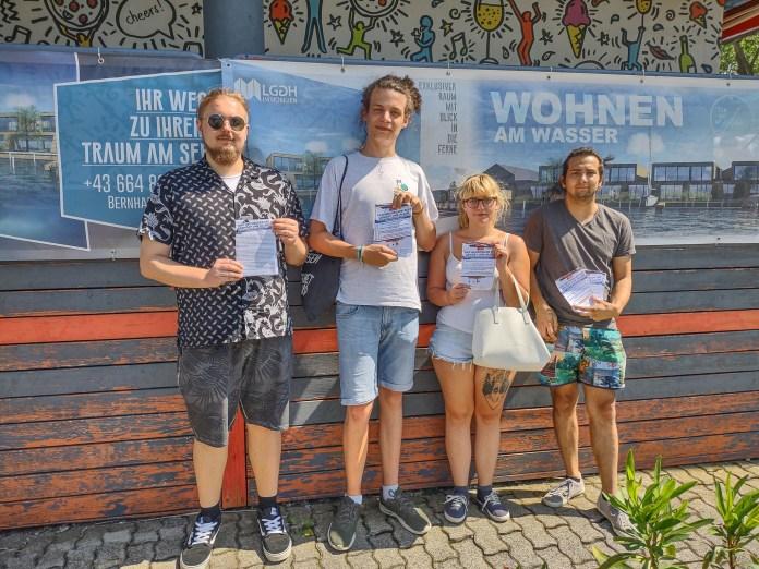 KJÖ auf Tour um den Neusiedler See