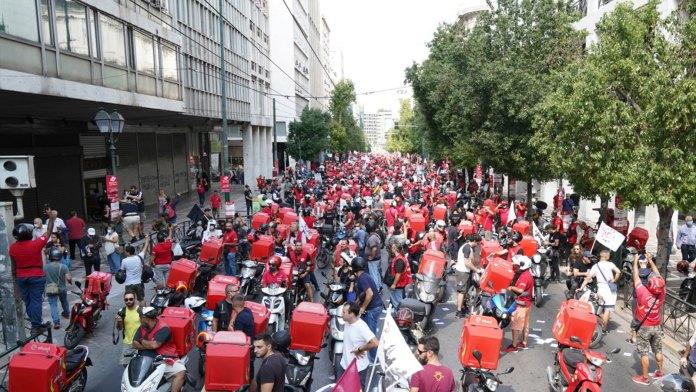 Griechenland: Sieg der efood-Arbeiter nach Streik