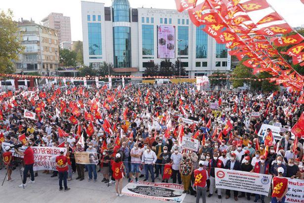 """Istanbul: Großkundgebung der TKP """"Zeit für Sozialismus"""""""