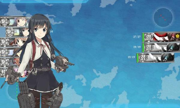 対潜爆雷攻撃