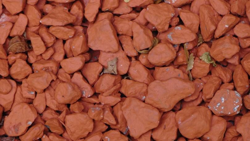 Red (ok, maybe orange) rocks