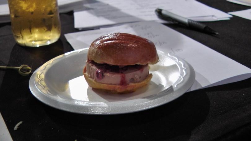 From Pintxo: Foie gras burger